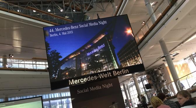 Mercedes Benz Social Media Night – Matthias Mehner informiert über Social Media bei der ProSiebenSat.1 Media AG