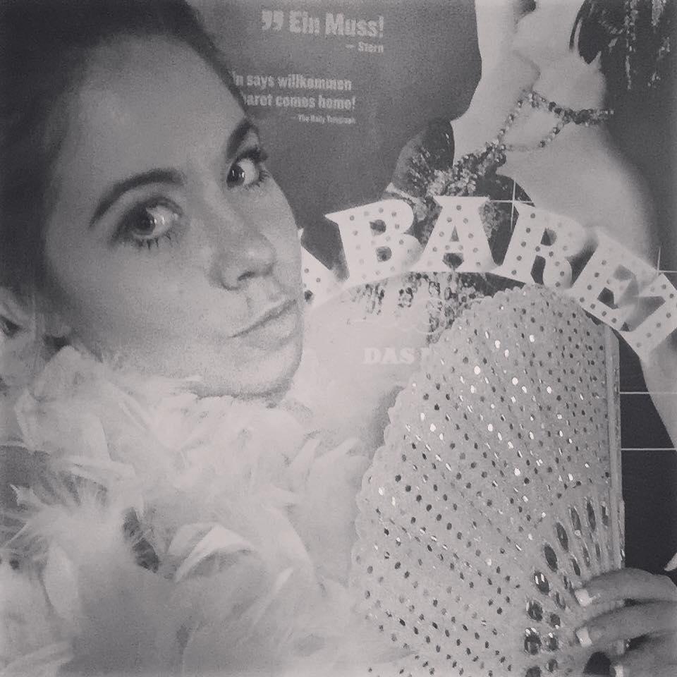 """Nadine Trompka bei der Premiere zu """"Cabaret - Das Musical"""""""