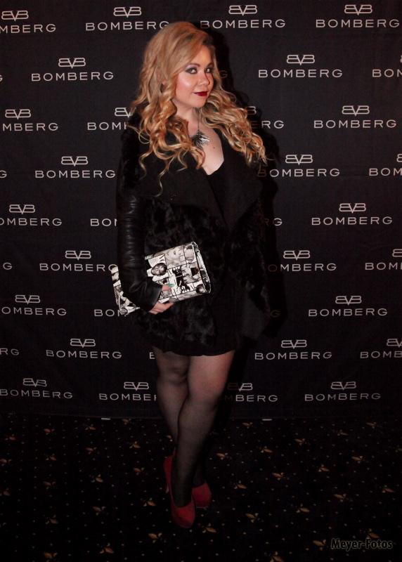 Nadine Trompka beim Event von Bomberg Uhren (c) Andreas Meyer